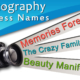 112 Unique and Catchy Names for Your Photography Business